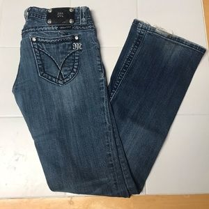 Miss Me Bootcut Jeans - size 27